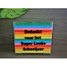 Memoblok Bedankt voor het Super Leuke Schooljaar