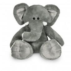 Knuffel met truitje, olifant Tanja met persoonlijke bedrukking
