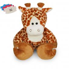 Knuffel met truitje, Giraf met persoonlijke bedrukking