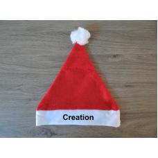 Kerstmuts baby met persoonlijke bedrukking