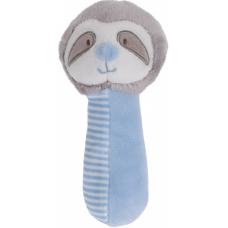 Knijpknuffeltje luiaard blauw