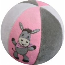 Rammelaar bal ezeltje roze