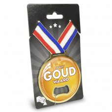 Medaille opener goud