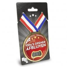 Medaille opener opa