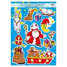 Sinterklaas raamstickers